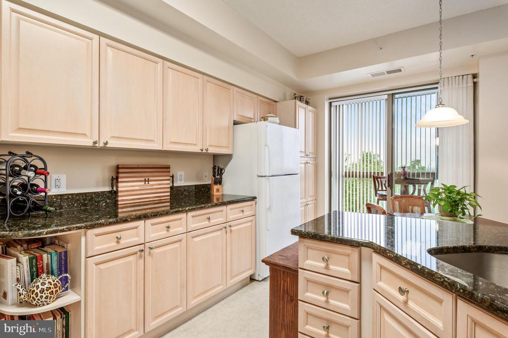 Pantry and plenty of cabinets! - 19355 CYPRESS RIDGE TER #416, LEESBURG