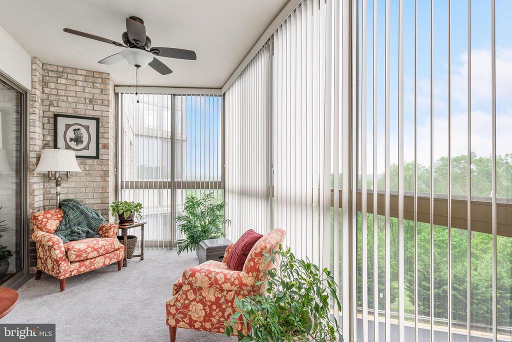 Gorgeous views from sunroom - 19355 CYPRESS RIDGE TER #416, LEESBURG