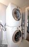 Washer/dryer. - 209 SOUTH ST SE, LEESBURG