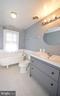 Hall bath. - 209 SOUTH ST SE, LEESBURG