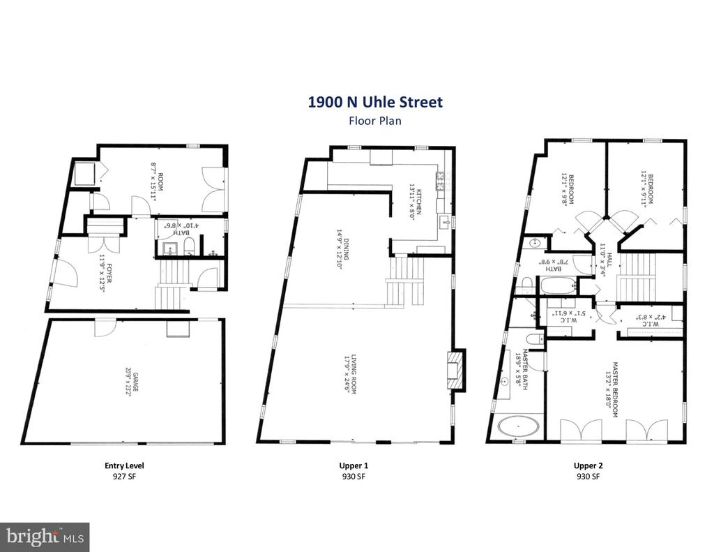 Floor Plans - 1900 N UHLE ST, ARLINGTON
