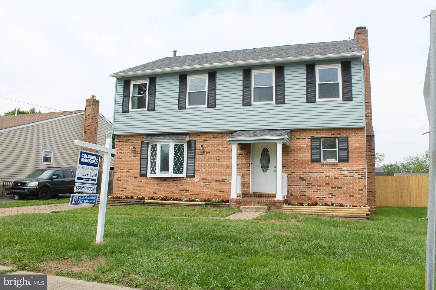 Single Family for Sale at 342 Schulamar Rd Linthicum, Maryland 21090 United States