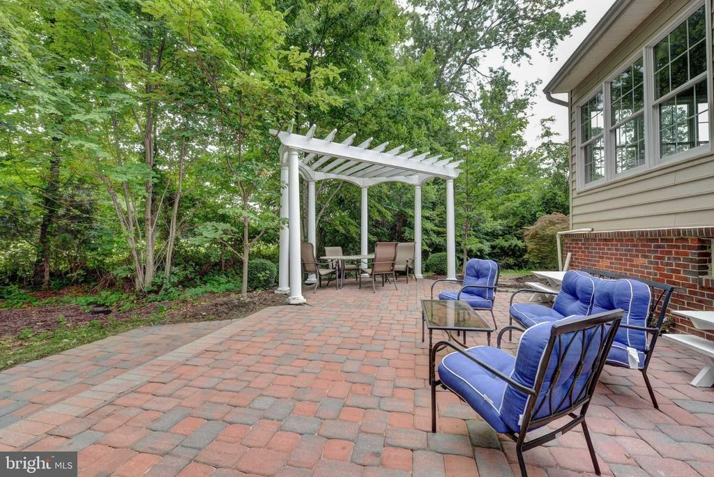 Large Patio with pergola and firepit - 20305 MEDALIST DR, ASHBURN