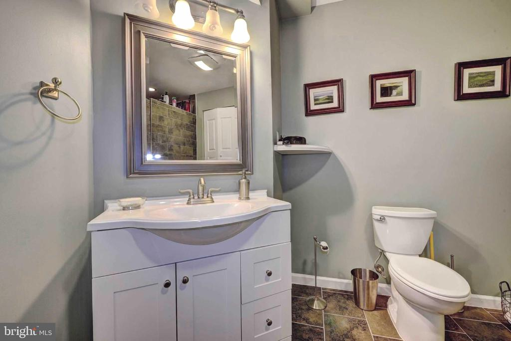 Lower level full bathroom - 20305 MEDALIST DR, ASHBURN