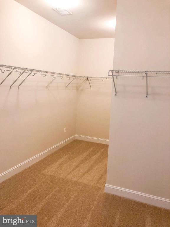 Walk-in Closet - 124 PENNS CHARTER LN, STAFFORD