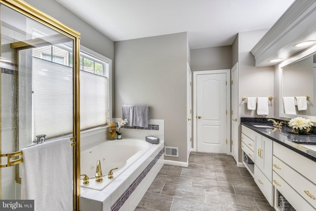 Master Bathroom on main level - 629 DISKIN PL SW, LEESBURG