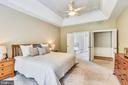 1st floor master bedroom suite - 629 DISKIN PL SW, LEESBURG