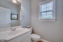 Powder Room on Main Level near Office - 60 TURNSTONE CT, STAFFORD