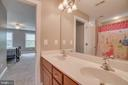 Jack & Jill Bathroom (Upper Level) - 60 TURNSTONE CT, STAFFORD