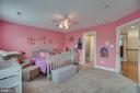Bedroom #3 (Upper Level) Shares J&J Bath - 60 TURNSTONE CT, STAFFORD