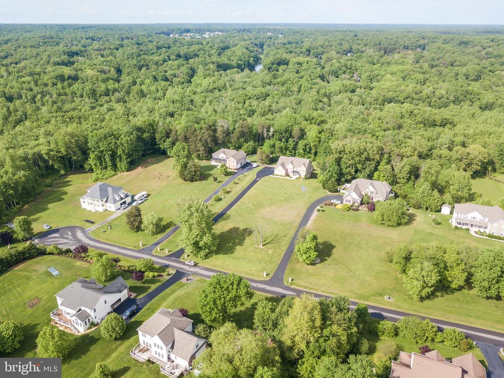 View from Above. Fenced in Backyard - 60 TURNSTONE CT, STAFFORD