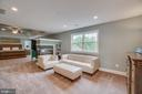 3 Sided Glass Fireplace & Sitting Area in Master - 60 TURNSTONE CT, STAFFORD