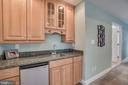 Wet Bar in Master Bedroom and Refrigerator - 60 TURNSTONE CT, STAFFORD