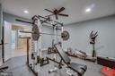 Exercise Room (Basement) - 60 TURNSTONE CT, STAFFORD