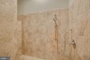Separate Tiled Dog Wash in Basement - 60 TURNSTONE CT, STAFFORD