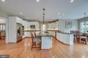 Kitchen is Open to Family Room and Breakfast Area - 60 TURNSTONE CT, STAFFORD