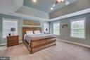 Recessed Lighting in Master Bedroom - 60 TURNSTONE CT, STAFFORD