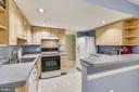 Kitchen has Dishwasher/elec. stove. / refrigerator - 629 DISKIN PL SW, LEESBURG