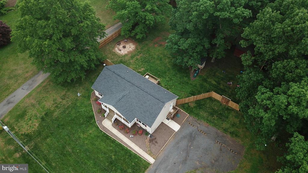 Aerial View - 3 - 7187 COVINGTONS CORNER RD, BEALETON