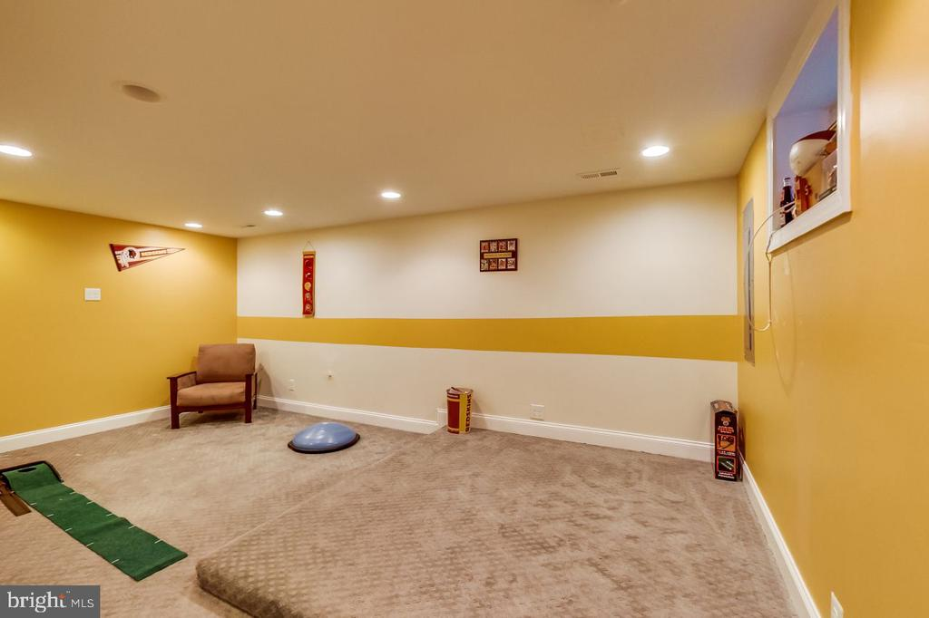 Lower Level Recreation Room - 2700 FAIRLAWN ST, TEMPLE HILLS
