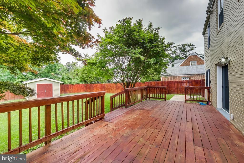 Rear Deck - 2700 FAIRLAWN ST, TEMPLE HILLS