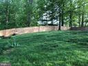 Backyard - 12920 COLBY DR, WOODBRIDGE