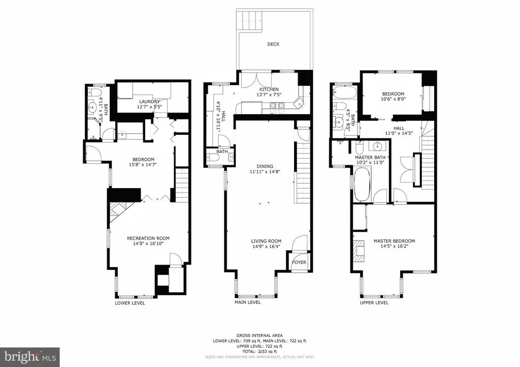 Floor Plans - 304 3RD ST SE, WASHINGTON