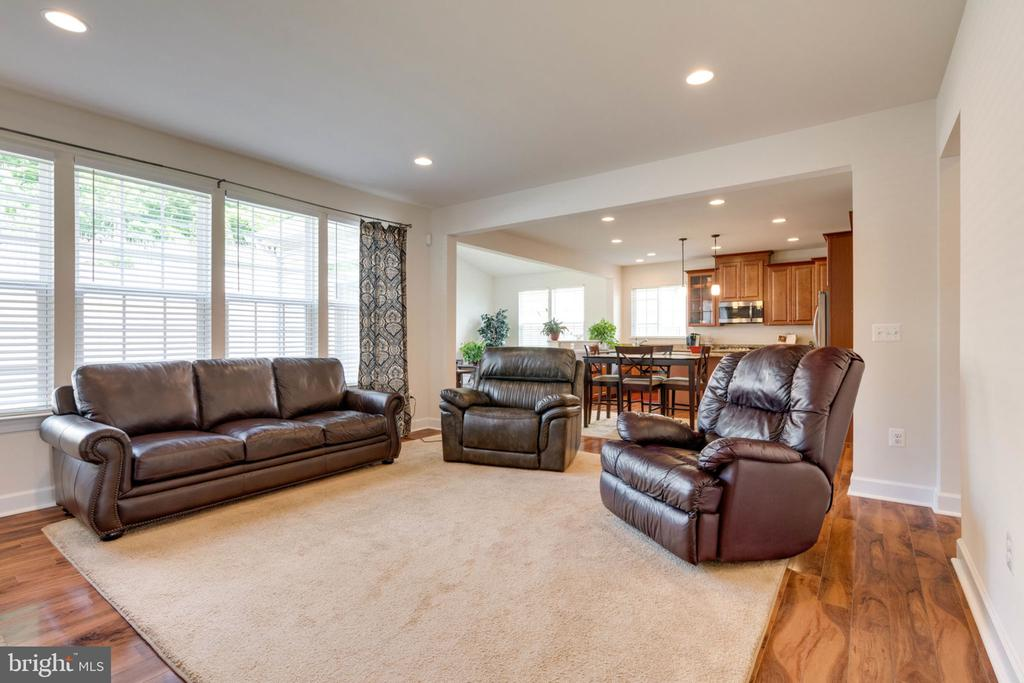 Family Room/Open Kitchen - 14 SORREL LN, STAFFORD
