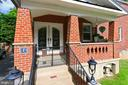 Covered Front Porch - 210 N EDISON ST, ARLINGTON