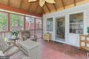 Rear screened porch - 210 N EDISON ST, ARLINGTON
