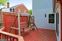 Rear deck - 210 N EDISON ST, ARLINGTON