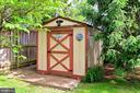Storage shed - 210 N EDISON ST, ARLINGTON