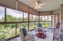 Shades and Ceiling Fan Help with Temps - 19355 CYPRESS RIDGE TER #601, LEESBURG