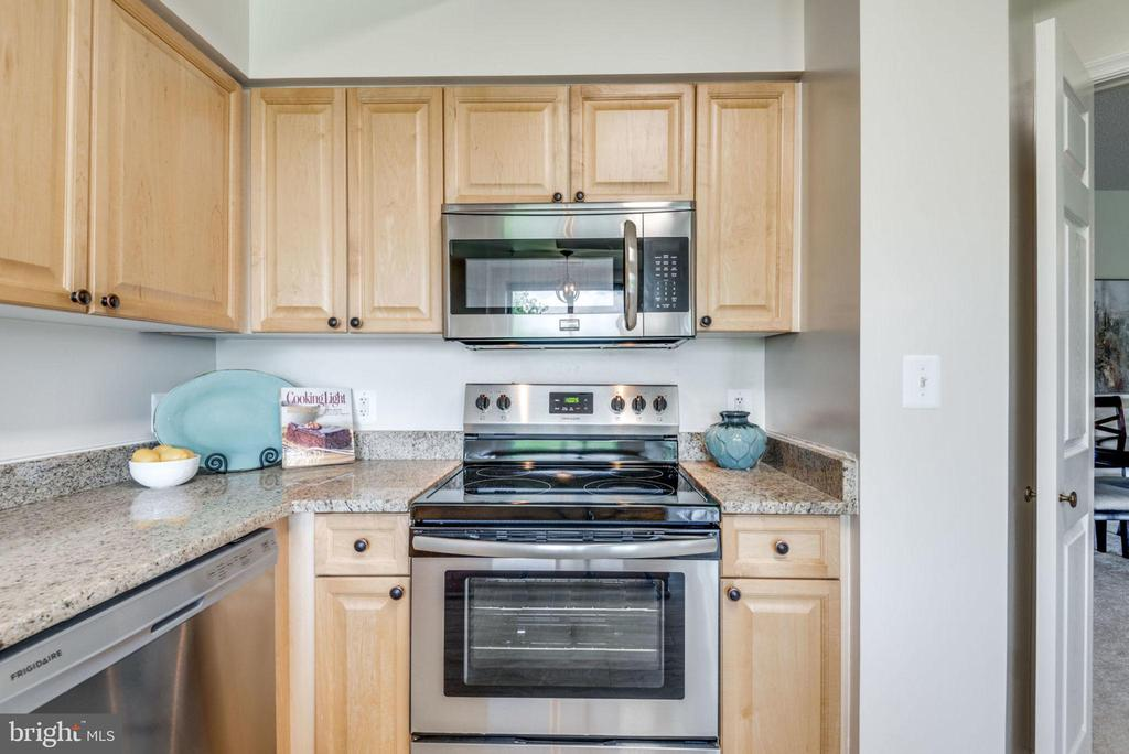 Newly Updated Kitchen with Stainless Appliances - 19355 CYPRESS RIDGE TER #601, LEESBURG