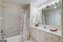 Master Bathroom with Tub/Shower and Walk-in Shower - 19355 CYPRESS RIDGE TER #601, LEESBURG