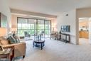 Sliding Doors Out to Sun Room - 19355 CYPRESS RIDGE TER #601, LEESBURG