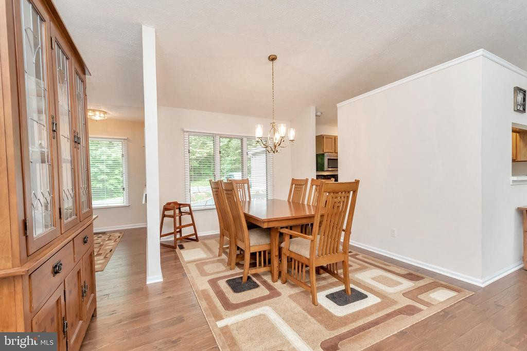 Dining Room open to family room - 107 GREEN ST, LOCUST GROVE