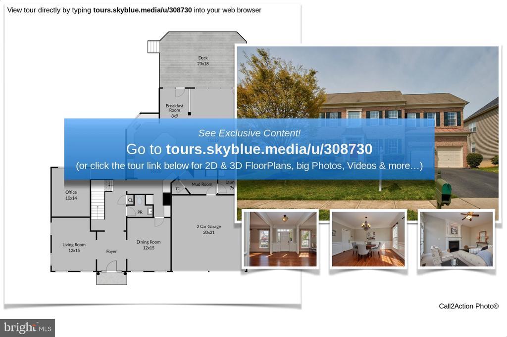 Floor Plan - 9742 KINLOSS MEWS, BRISTOW
