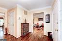 Entry Foyer- Hardwood Floors - 2330 CLUB POND LN, RESTON