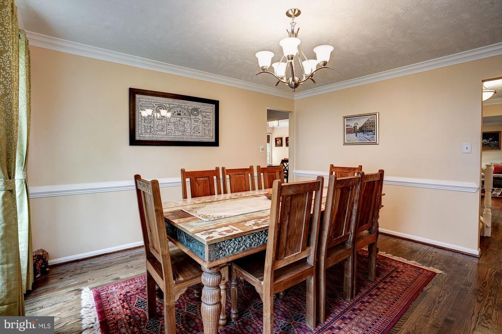 Formal Dining Room -Hardwood Floors - 2330 CLUB POND LN, RESTON