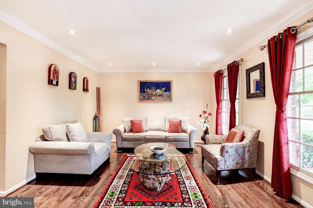 Formal Living  Room- Hardwood Floors - 2330 CLUB POND LN, RESTON