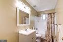 Full Bath Upper Level - 2330 CLUB POND LN, RESTON