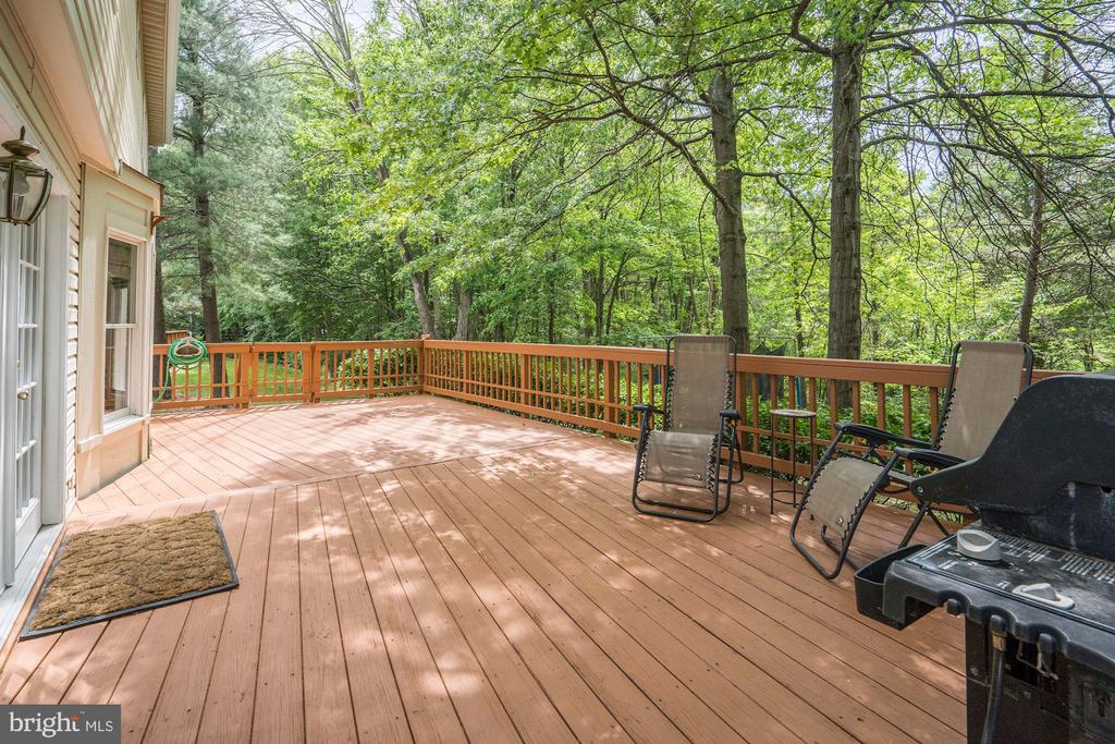 Large Deck Backs To Trees - 2330 CLUB POND LN, RESTON