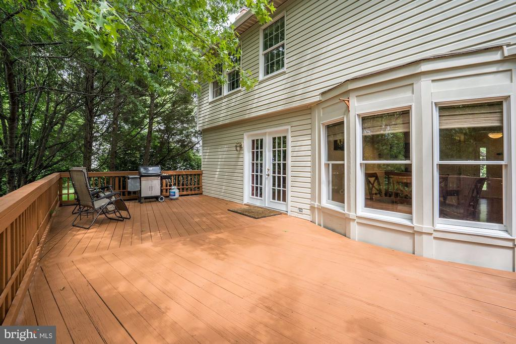 Large Deck- Rear of House - 2330 CLUB POND LN, RESTON