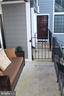 View of balcony from door - 7009 BIRKENHEAD PL #8C, ALEXANDRIA