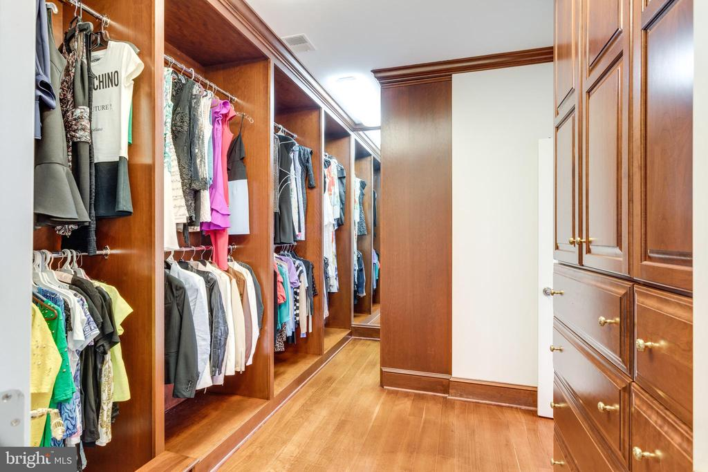 1 of 2 walk in closets - 9179 OLD DOMINION, MCLEAN