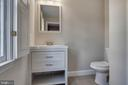 Updated powder room on main level - 23210 DOVER RD, MIDDLEBURG