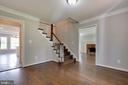 Entry foyer - 23210 DOVER RD, MIDDLEBURG