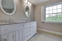 Hall bathroom - 23210 DOVER RD, MIDDLEBURG