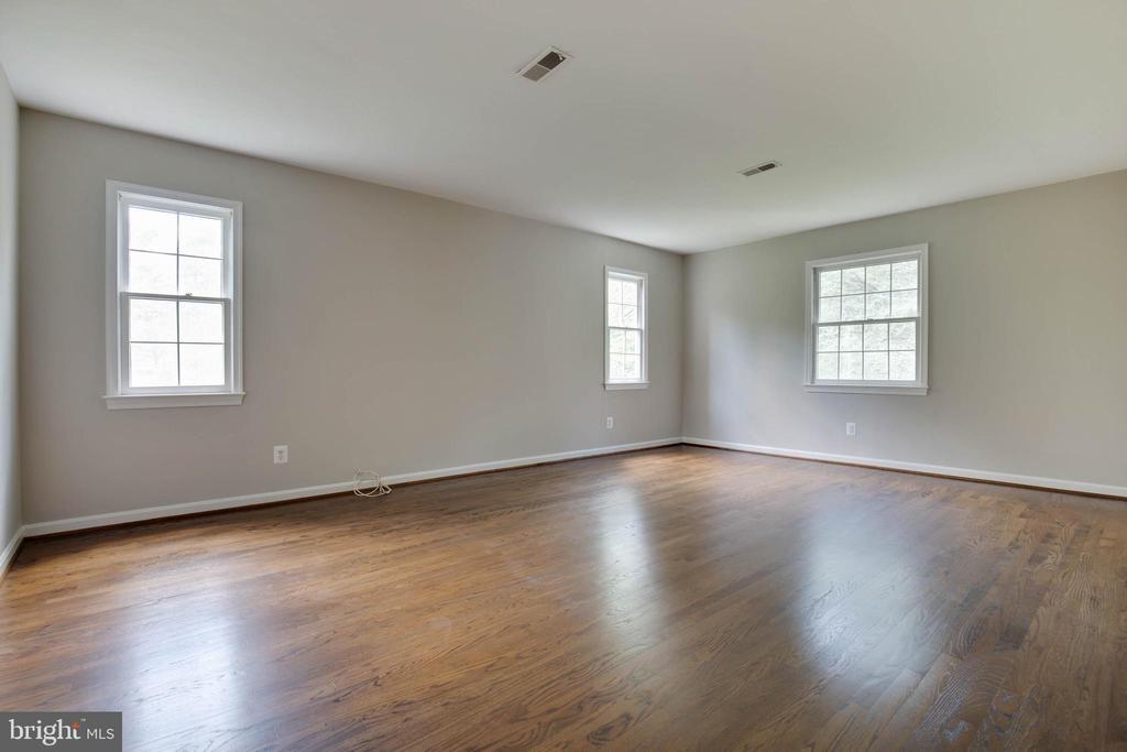 Expansive Master bedroom - 23210 DOVER RD, MIDDLEBURG